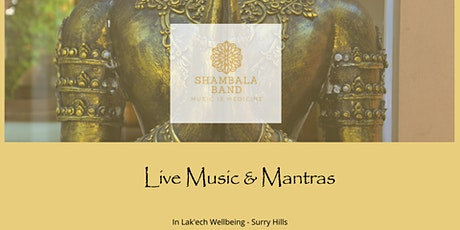 Live Music & Mantras tickets