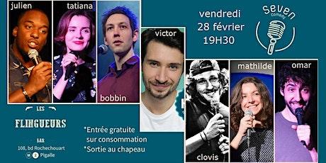 Seven Comedy Club N°52 billets