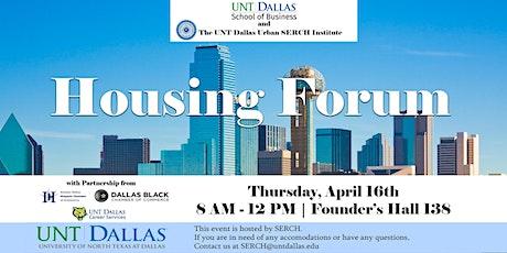 Housing Forum tickets
