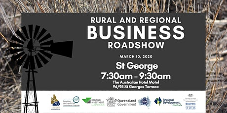 Rural and Regional Business Roadshow - St George tickets