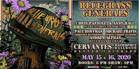 Bluegrass Generals ft. Chris Pandolfi, Andy Hall, Paul Hoffman (FRIDAY) tickets