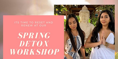 Spring Detox Workshop: A night to Reset, Renew, and Manifest tickets