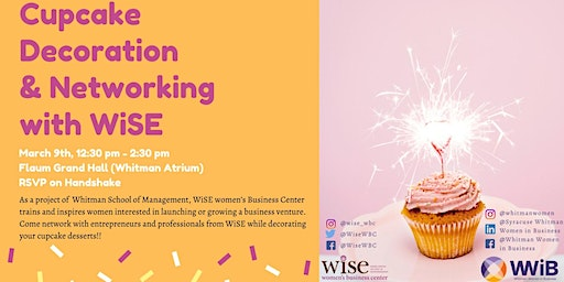 Cupcake Decoration & Networking with WISE