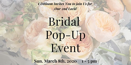 Bridal Pop-Up Event tickets