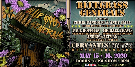 Bluegrass Generals ft. Chris Pandolfi, Andy Hall, Paul Hoffman (SATURDAY) tickets