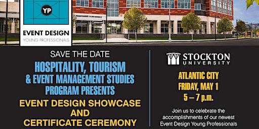 Stockton's HTMS Event Design Showcase and Certificate Ceremony
