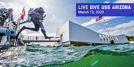 Live Dive USS Arizona at Pearl Harbor National Memorial tickets