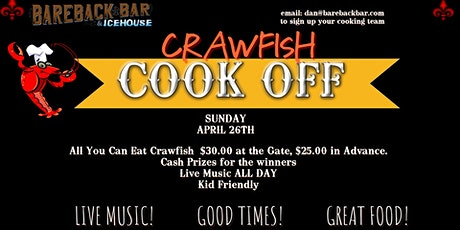 2020 Crawfish Cook Off tickets