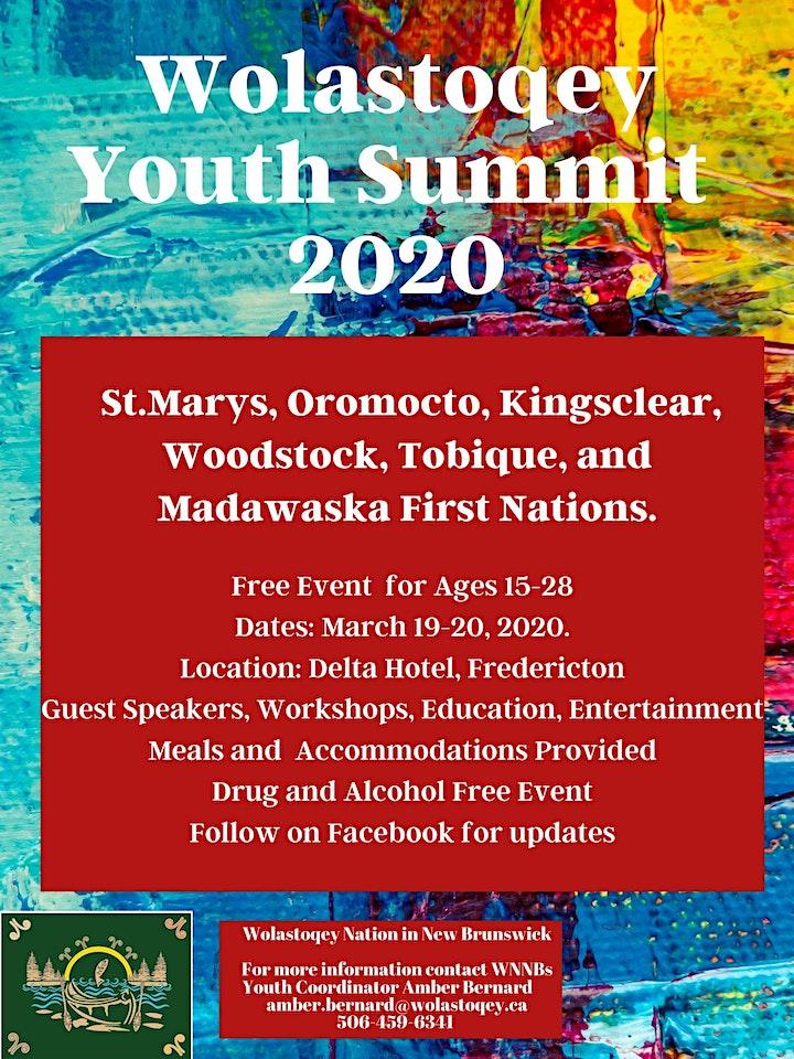 Wolastoqey Youth Summit 2020 image