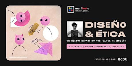 Diseño y Ética boletos