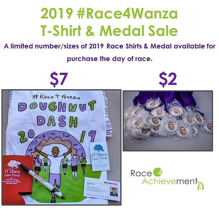 Doughnut Dash 5k 2020 #Race4Wanza image