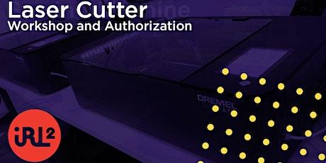 Laser Cutter Authorization Workshop tickets