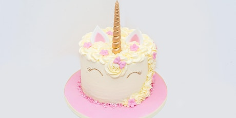 £40 - UNICORN Cake Decorating Demonstration tickets