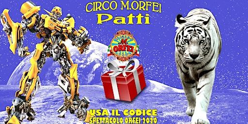 Il Grande Circo M.Orfei a Patti, fino al 3 marzo
