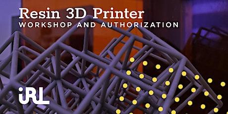 Resin 3D Printer Workshop tickets