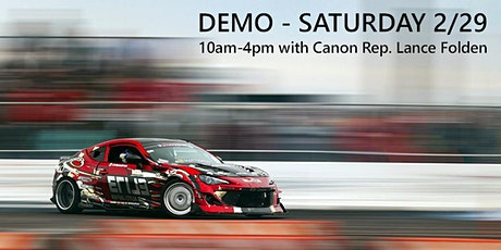 FREE Canon EOS-1DX Mark III Demo with Canon Rep. Lance Folden tickets