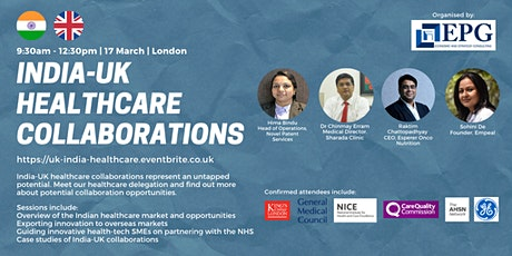 India-UK Healthcare Collaborations tickets