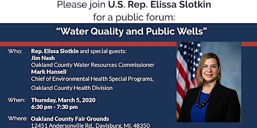 Water Quality and Public Wells
