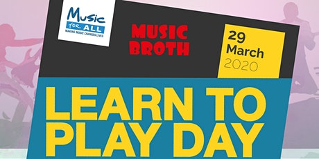 'Grow with Music' Showcase & Community Event as part of 'Learn to Play Day' tickets