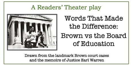 The Words That Made the Difference: Brown vs the Board of Education tickets