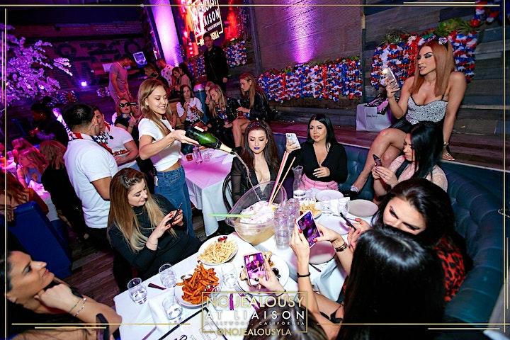 No Jealousy Sunday Party Brunch - Navy Themed image