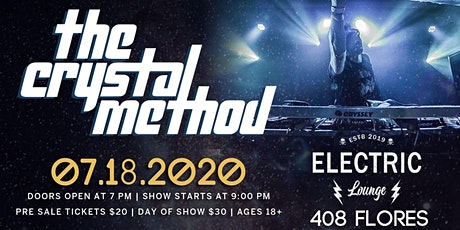 The Crystal Method tickets