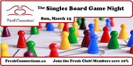 The Singles Board Game Night in Nanaimo
