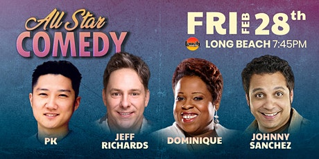 Jeff Richards, Dominique, Johnny Sanchez, and more - All-Star Comedy tickets