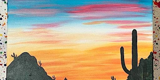 Arizona Sky Sip and Paint Night