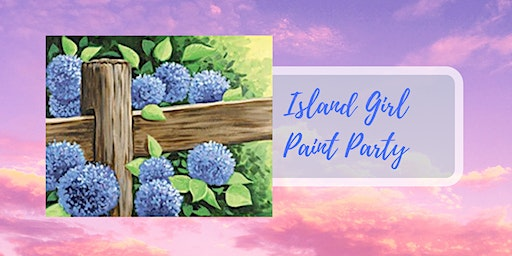 Island Girl Paint Party at Rockaway Bar and Grill