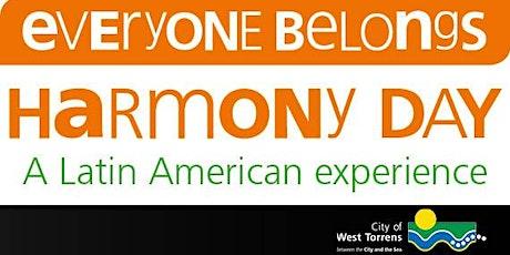Harmony Day 2020: Latin American experience tickets
