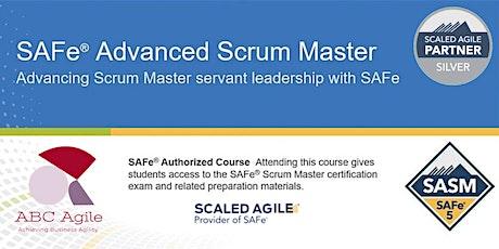 """""""SAFe Advanced Scrum Master 5.0"""" con certificación como SASM - Lima - Christian Gonzales Komiya entradas"""