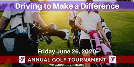"""Annual YMCA """"Driving to Make a Difference"""" Golf Tournament tickets"""