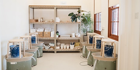 Introduction to Not Yet Perfect & Wheel Work Pottery Workshop tickets