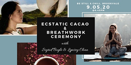Ecstatic Cacao & Breathwork Ceremony - N Beaches tickets