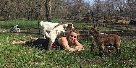 Goat Yoga! - Sunday 10/3 | 6:15 - 7:15 | tickets