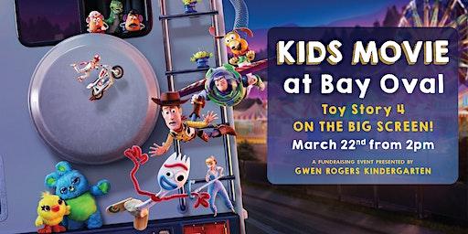 Kids Movie at Bay Oval Big Screen