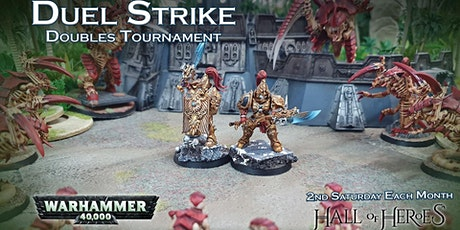 Warhammer 40k Duel Strike Doubles Tournament April 2020 tickets