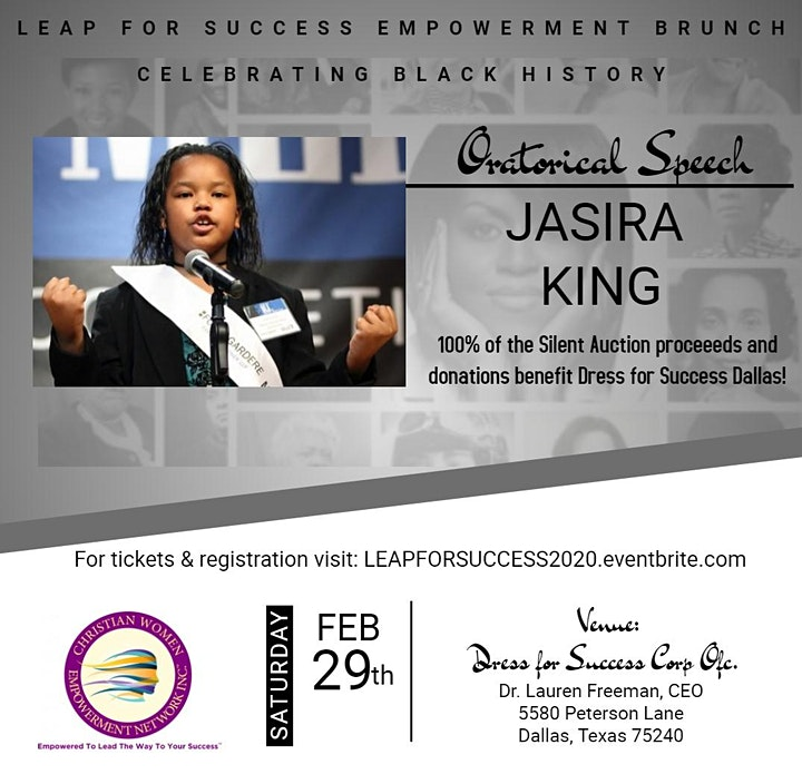 LEAP FOR SUCCESS BRUNCH BENEFITING DRESS FOR SUCCESS image