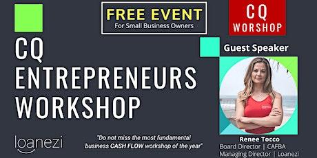 CQ Entrepreneurs Breakfast Workshop YEPPOON tickets