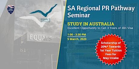 SA Regional PR Pathway Seminar tickets