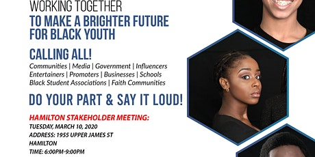 SAY IT LOUD CANADA STAKEHOLDER MEETING-HAMILTON tickets
