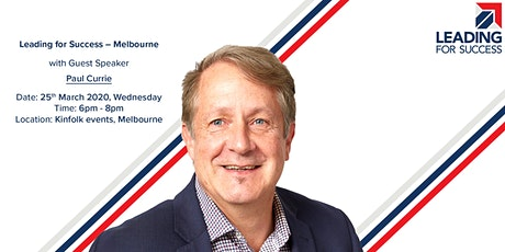Leading for Success - Melbourne tickets