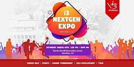 i3 NextGen Expo tickets