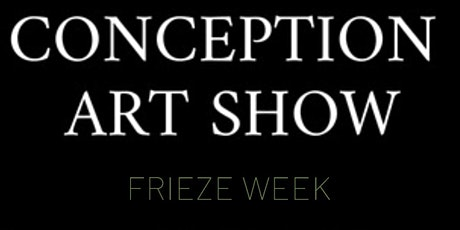 Conception Art Show - New York City - Wednesday tickets