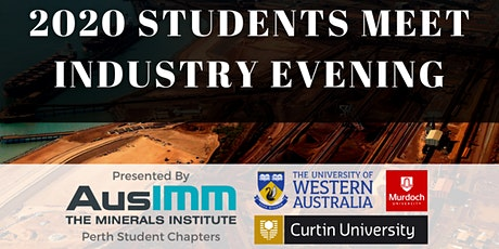AusIMM UWA Presents: Student Meet Industry 2020 tickets