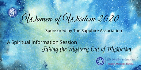 Women of Wisdom 2020 Sponsored by The Sapphire Association tickets