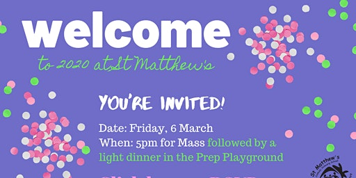 Family Mass and Welcome Gathering