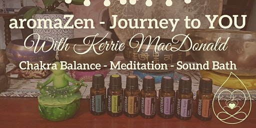 aromaZen Full Moon Restorative Healing Journey with Kerrie MacDonald