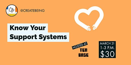 Know Your Support Systems tickets